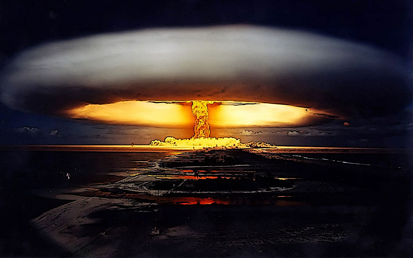 Arms Race Issues Countdown To Armageddon
