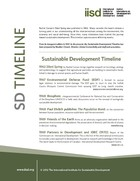 Sustainable Development Timeline